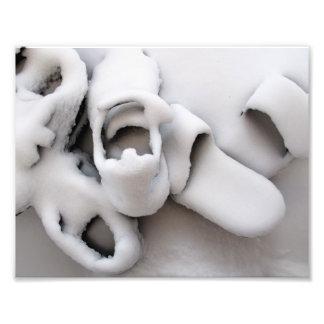 Nieve, Boston, mA, 9.3x7.3, impresión de la foto