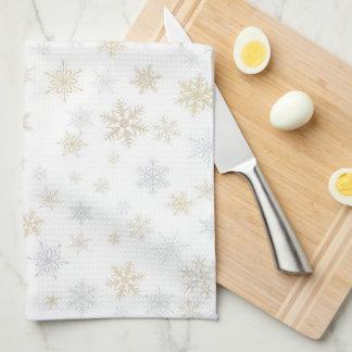 Nieve brillante toalla