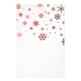 Nieve caliente  papeleria de diseño