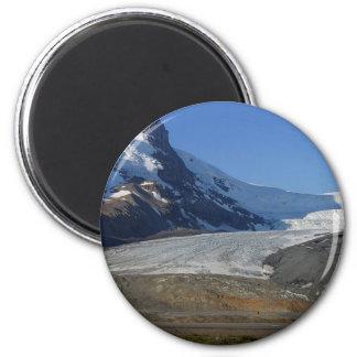 Nieve Canadá de los glaciares de la ruta verde de  Imanes Para Frigoríficos