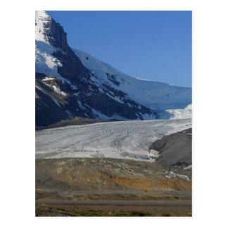 Nieve Canadá de los glaciares de la ruta verde de  Postales