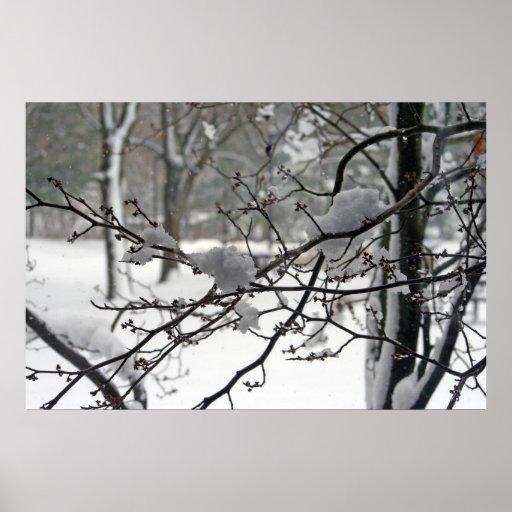 Nieve de abril posters