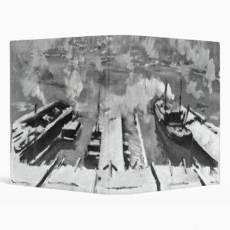 Nieve de Brooklyn Heights 1922