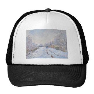 Nieve de Claude Monet en Argenteuil Gorra