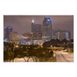 Nieve de diciembre - Raleigh, Carolina del Norte Poster