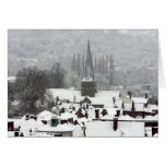 Nieve de Godalming Tarjeta De Felicitación