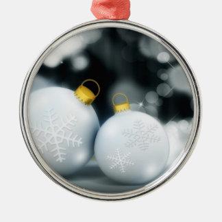 Nieve de la bola del advenimiento de los ornamento adorno para reyes
