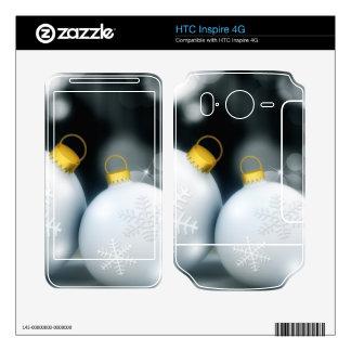 Nieve de la bola del advenimiento de los ornamento HTC inspire 4G skins