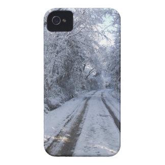 Nieve de la carretera nacional Case-Mate iPhone 4 protectores