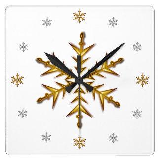 """""""Nieve de la gala"""": Oro y plata # ' s, reloj de la"""