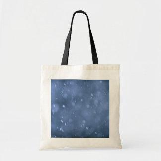 Nieve de la tarde bolsa de mano