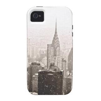Nieve de Nueva York iPhone 4/4S Funda