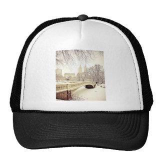 Nieve del Central Park - invierno Nueva York Gorra