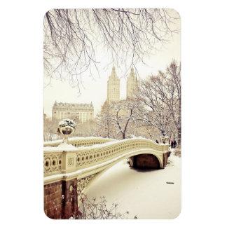 Nieve del Central Park - invierno Nueva York Iman