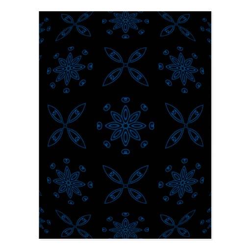 Nieve del cobalto postales