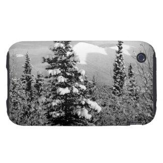 Nieve del invierno carcasa resistente para iPhone