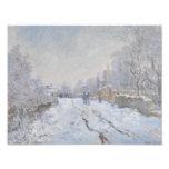 Nieve del invierno en Argeteuil Fotos
