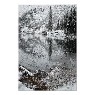 Nieve en el lago veintidós fotos
