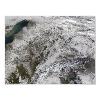 Nieve en Europa Cojinete