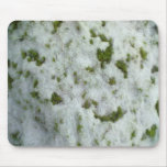 Nieve en hierba alfombrilla de ratón