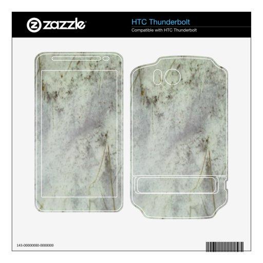 Nieve en la tierra skins para HTC thunderbolt
