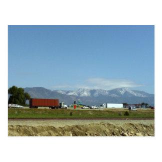 Nieve en las montañas de San Bernardino Postales