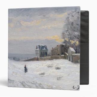Nieve en Montmartre 1869