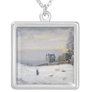 Nieve en Montmartre 1869 Joyerías