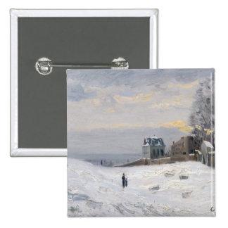 Nieve en Montmartre 1869 Pins