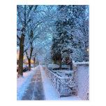 Nieve en Montreal Postal