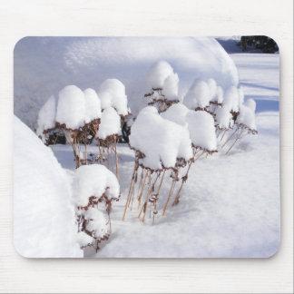 Nieve en mousepad del de los zancos alfombrillas de ratón