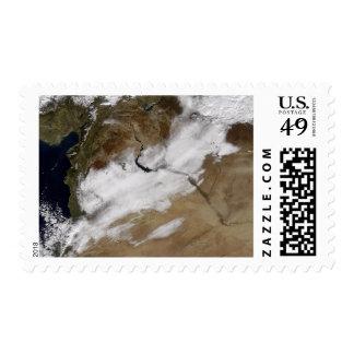 Nieve en Siria Sellos