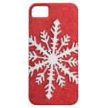 Nieve festiva del día de fiesta iPhone 5 coberturas