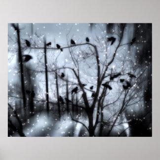Nieve gótica impresiones