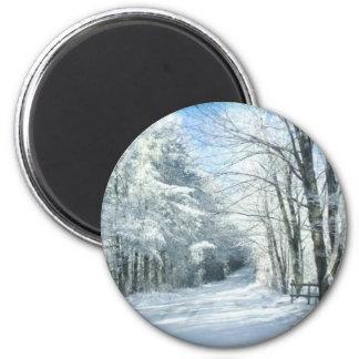 Nieve Imán Redondo 5 Cm