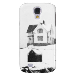Nieve ligera sketch.jpg de Neddick del cabo Funda Para Galaxy S4