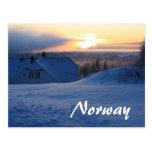Nieve/Noruega noruegas Postales