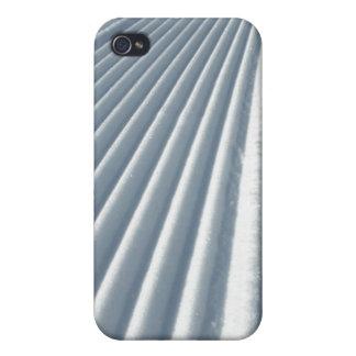 Nieve preparada iPhone 4 protectores