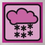 nieve rosada 02 posters