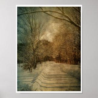Nieve silenciosa impresiones