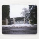 Nieve Tapete De Raton