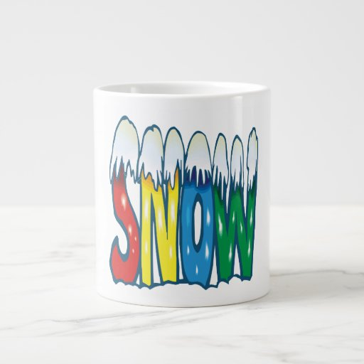 Nieve Taza Jumbo