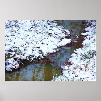 Nieve y corriente posters