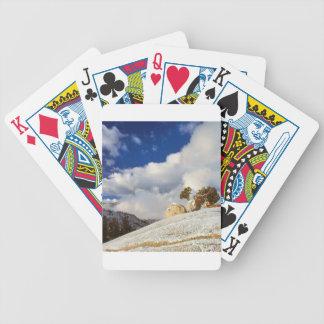 Nieve Yosemite California de la primavera de la es Baraja Cartas De Poker