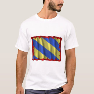 Nièvre waving flag T-Shirt