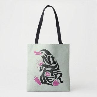 Niffler Typography Graphic Tote Bag