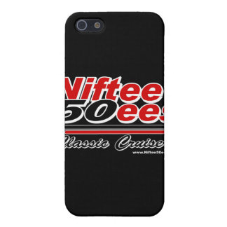 Niftee50ees Classic Cruisers Logo iPhone 5 Cover