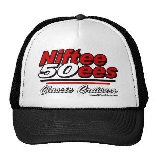 Niftee50ees Classic Cruisers Logo Mesh Hats