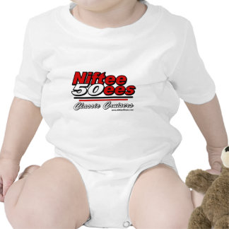 Niftee50ees Classic Cruisers Logo Rompers