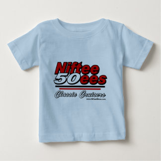 Niftee50ees Classic Cruisers Logo T Shirts